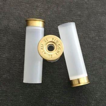 FIOCCHI T1 ΚΑΛΥΚΕΣ  12/70/08mm  ΧΩΡΙΣ ΚΑΨΥΛΙ ΔΙΑΦΑΝΟΙ (100 τεμ.)